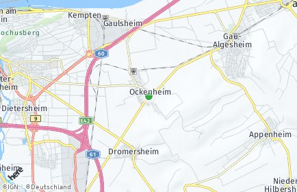 Stadtplan Ockenheim