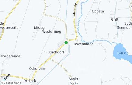 Stadtplan Odisheim