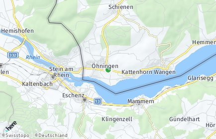Stadtplan Öhningen