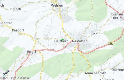 Stadtplan Oelsberg