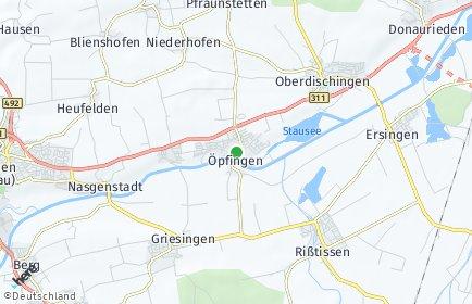 Stadtplan Öpfingen