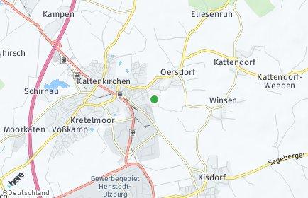 Stadtplan Oersdorf bei Neumünster