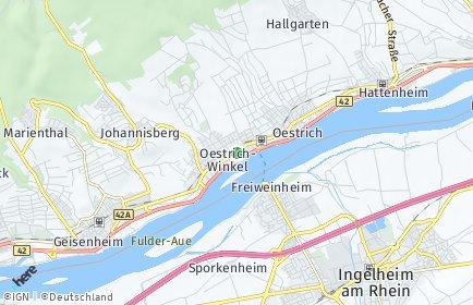 Stadtplan Oestrich-Winkel