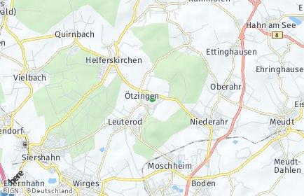 Stadtplan Ötzingen