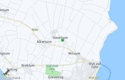 Stadtplan Oevenum