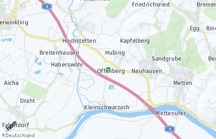 Stadtplan Offenberg