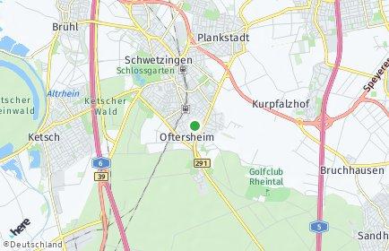 Stadtplan Oftersheim