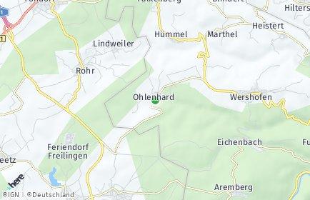 Stadtplan Ohlenhard
