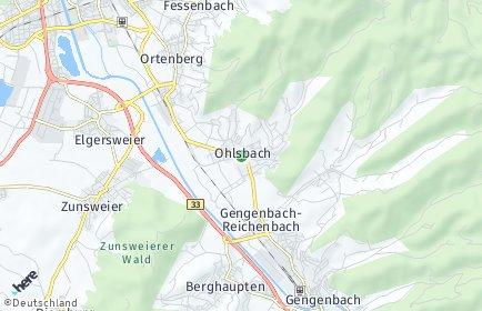Stadtplan Ohlsbach