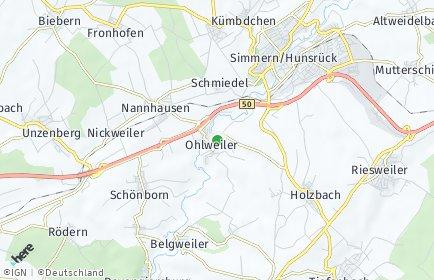 Stadtplan Ohlweiler