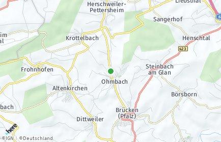 Stadtplan Ohmbach