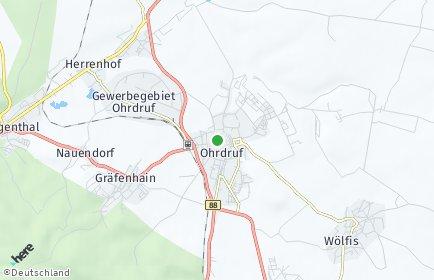 Stadtplan Ohrdruf