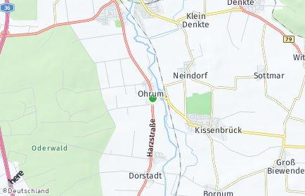 Stadtplan Ohrum