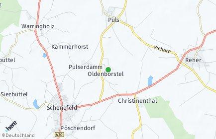 Stadtplan Oldenborstel
