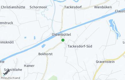 Stadtplan Oldenbüttel