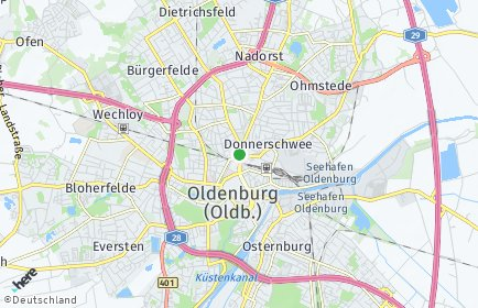 Stadtplan Oldenburg