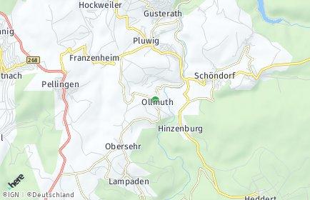 Stadtplan Ollmuth