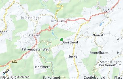 Stadtplan Olmscheid