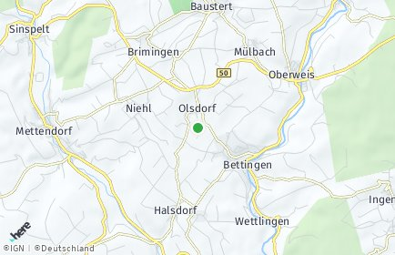 Stadtplan Olsdorf
