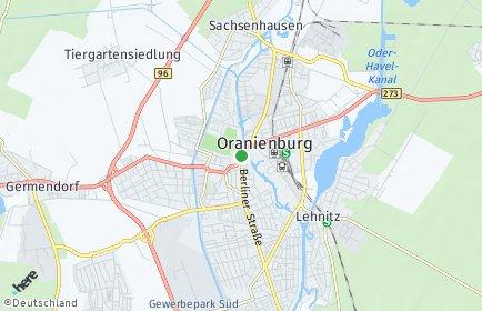 Stadtplan Oranienburg