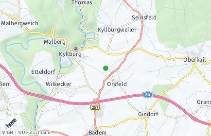 Stadtplan Orsfeld