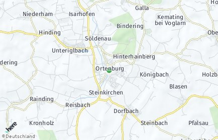 Stadtplan Ortenburg
