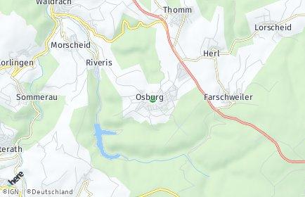 Stadtplan Osburg