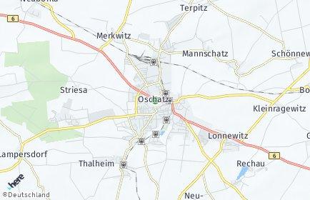 Stadtplan Oschatz