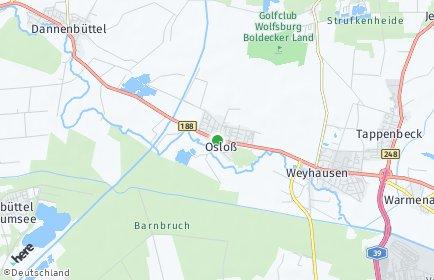 Stadtplan Osloß