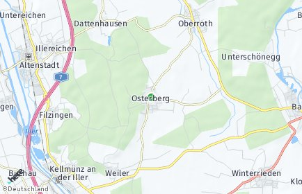 Stadtplan Osterberg