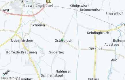 Stadtplan Osterbruch