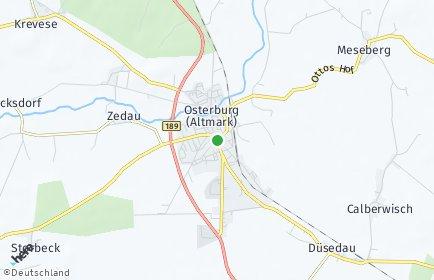 Stadtplan Osterburg