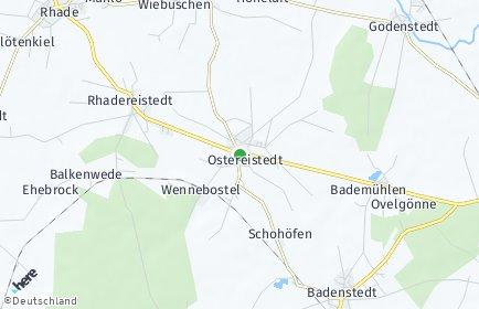 Stadtplan Ostereistedt