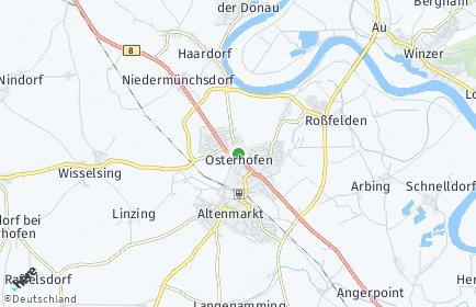 Stadtplan Osterhofen
