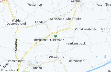 Stadtplan Osterrade
