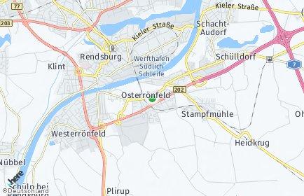 Stadtplan Osterrönfeld