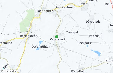 Stadtplan Osterstedt