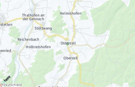 Stadtplan Osterzell