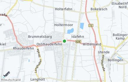 Stadtplan Ostrhauderfehn
