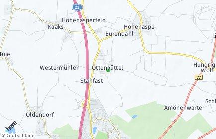 Stadtplan Ottenbüttel