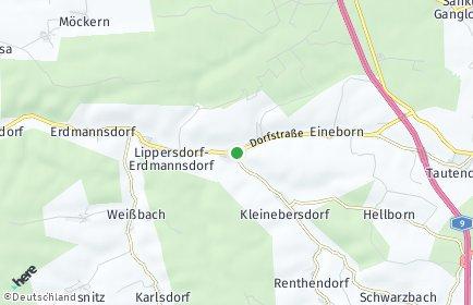 Stadtplan Ottendorf (Thüringen)