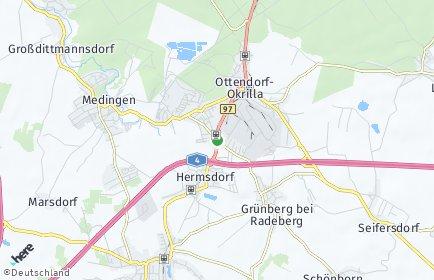 Stadtplan Ottendorf-Okrilla