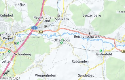 Stadtplan Ottensoos