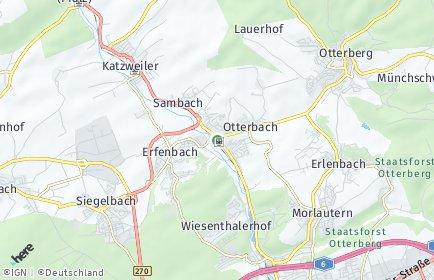 Stadtplan Otterbach