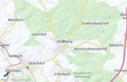Stadtplan Otterberg