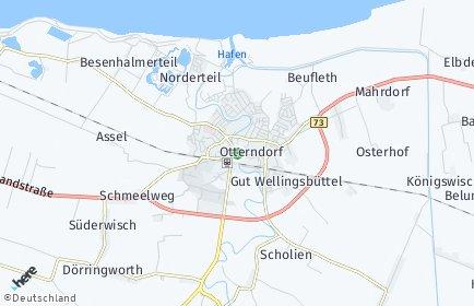 Stadtplan Otterndorf