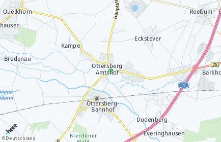 Stadtplan Ottersberg