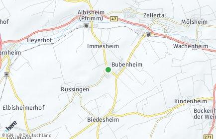 Stadtplan Ottersheim bei Kirchheimbolanden