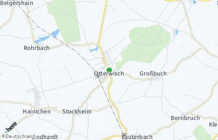 Stadtplan Otterwisch