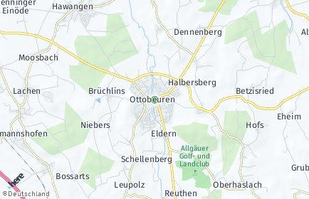 Stadtplan Ottobeuren